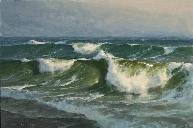 Donald W. Demers, 'Breaking Sand and Surf', 2015-2018, Helena Fox Fine Art
