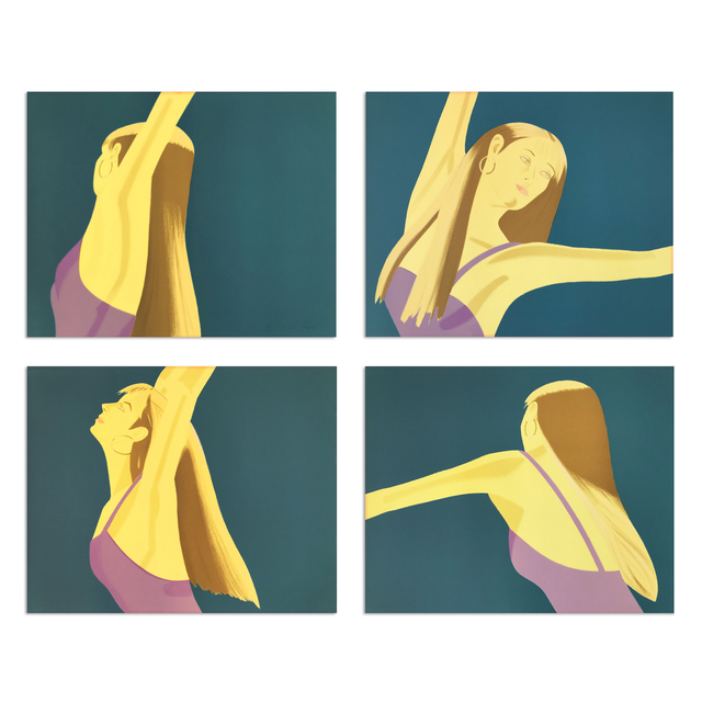 Alex Katz, 'Night: William Dunas Dance (Suite of Four)', 1979, MLTPL