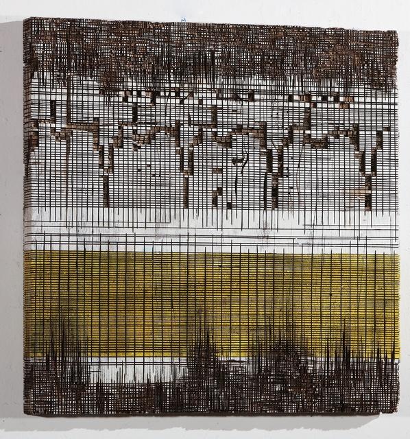 , 'Holzrelief,' 2017, Galerie Reinhold Maas
