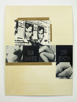 , 'Le Doux du sexe,' 1980, Galería Heinrich Ehrhardt