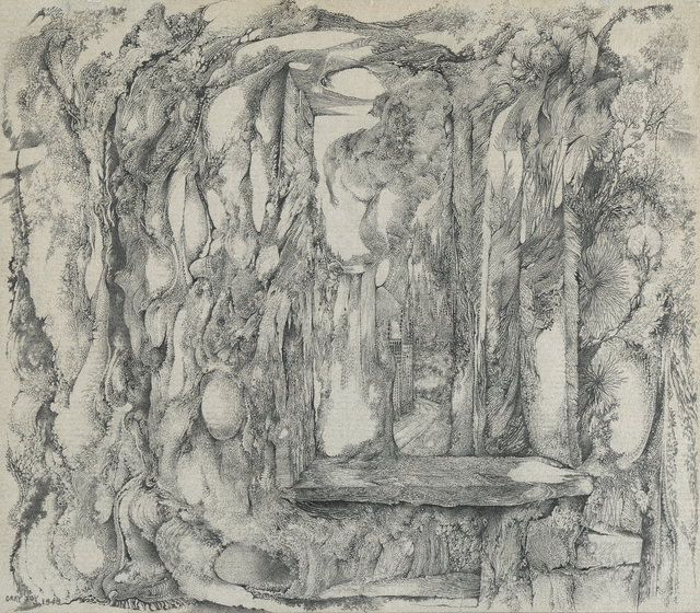 , 'Untitled [Overgrown Window with Distant Cityscape],' 1948, Francis M. Naumann Fine Art