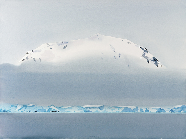 , 'Water, Glacier, Fog, Mountain, Neumeyer Channel, Antarctica,' , Dowling Walsh