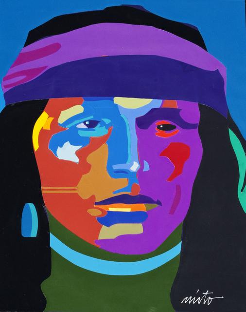 John Nieto, 'Navajo Portrait', Ventana Fine Art
