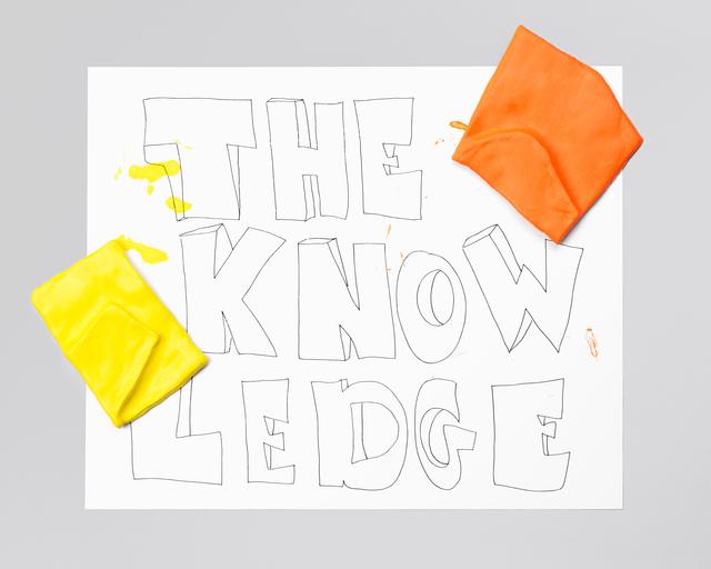 , 'THE KNOWLEDGE,' 2015-2016, Galerie Antoine Ertaskiran