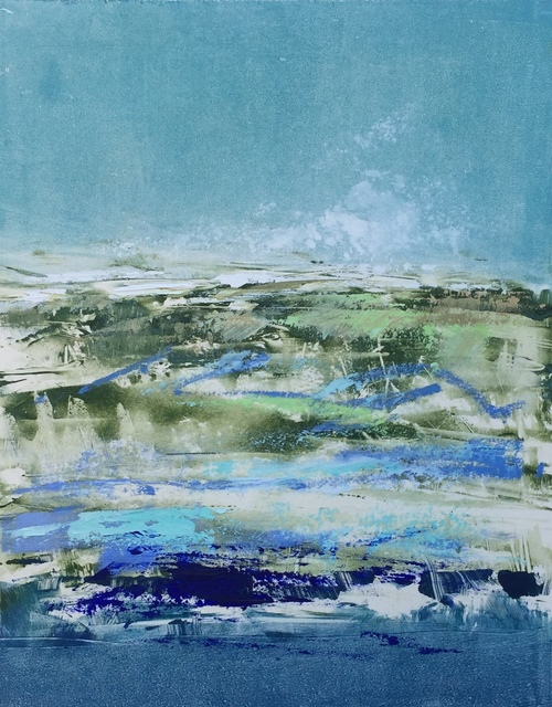 , 'Blue Mystic,' 2018, Meyer Vogl Gallery