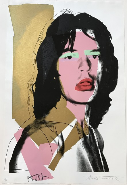 , 'Mick Jagger #143,' 1975, michael lisi / contemporary art
