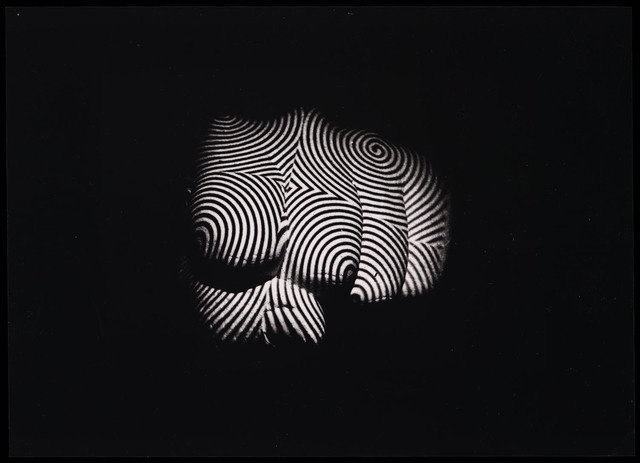 , 'Le Poing (The Fist) with a spiral projection,' 1965, Les Arts Décoratifs
