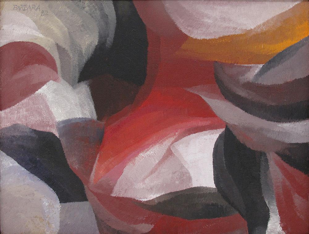 Acrylic on Canvas 30X40cm 1982 U$ 3000,