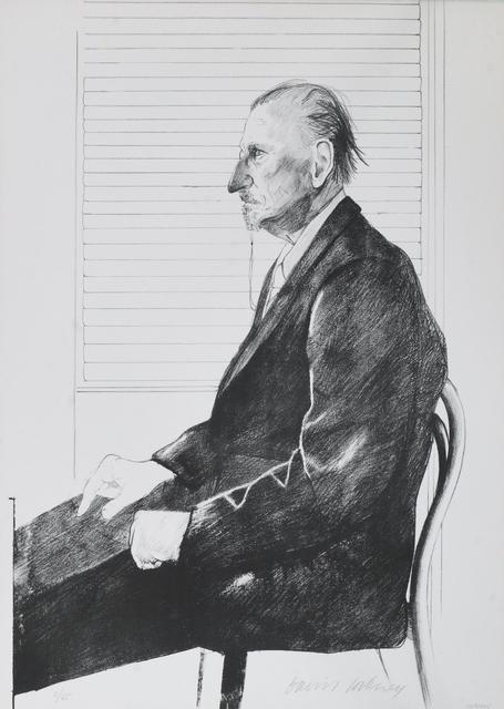 David Hockney, 'Portrait of Felix Mann', 1969, Roseberys