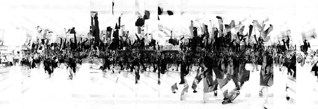 , 'ae_crowd (0;04;13;04),' 2011, COHJU contemporary art