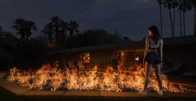 , 'Pool On Fire ,' 2015, Jennifer Kostuik Gallery
