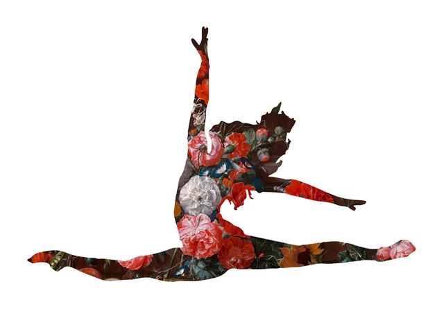 , 'Grand jetés avec des fleurs,' , 9 Strokes Gallery