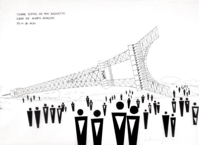 , 'Torre Eiffel de Pan Baguette,' 1982, Henrique Faria Fine Art