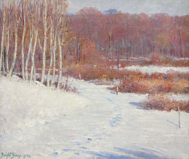 , 'Early Snow, October,' 1914, Avery Galleries