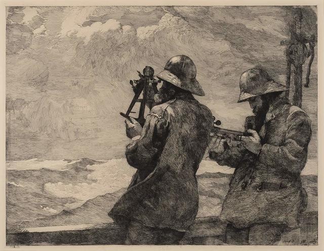 Winslow Homer, 'Eight Bells (Goodrich 96)', 1887, Doyle