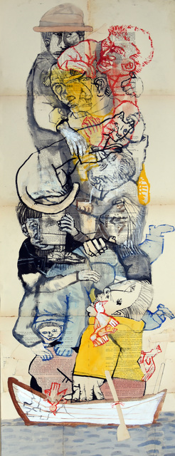 , 'Marée basse IV,' 2017, Galerie Claire Corcia