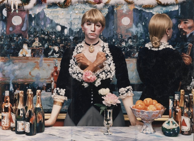 Yasumasa Morimura, 'Daughter of Art History, Theater A,' 1989, J. Paul Getty Museum