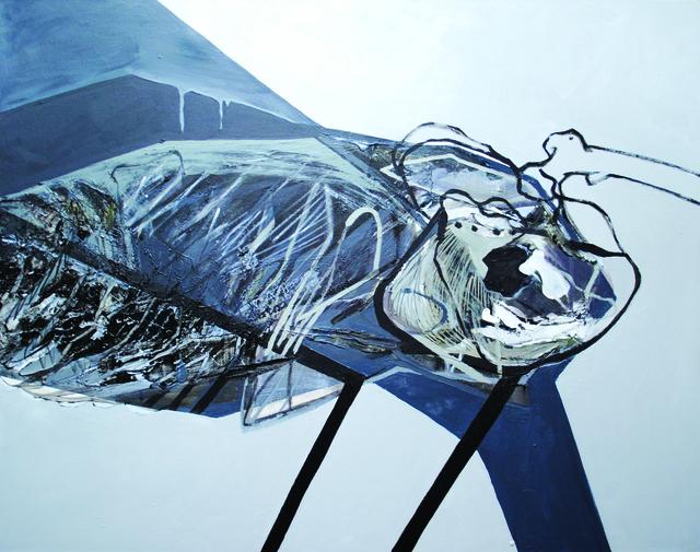 , 'Tissues 2,' 2017, BERLIN BLUE art