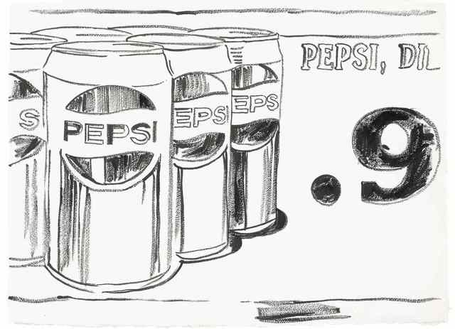 Andy Warhol, 'Pepsi Cans', ca. 1984, DELAHUNTY
