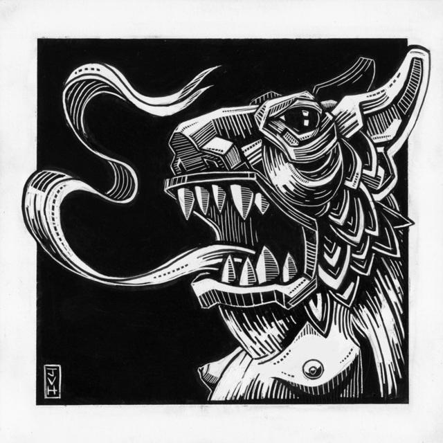, 'Licked by Demons,' 2017, Helikon Gallery & Studios