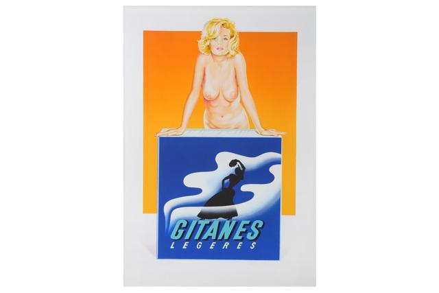 Mel Ramos, 'Gitanes', 2001, Chiswick Auctions