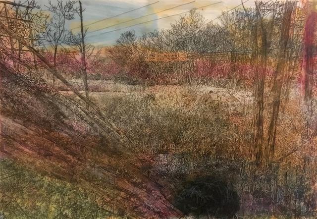 David Bailin, 'Power Lines', 2019, Koplin Del Rio
