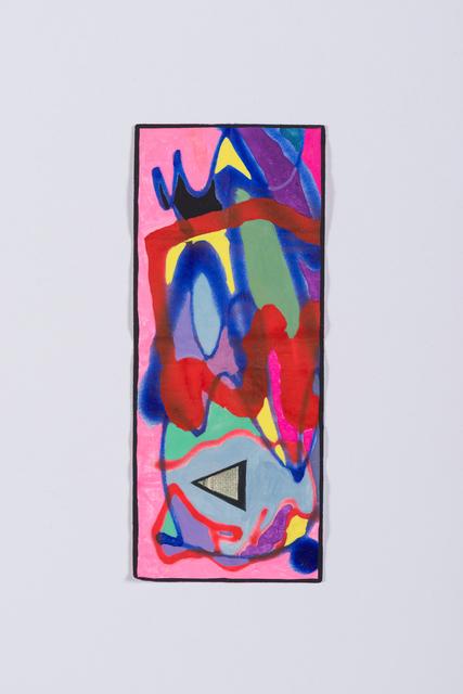 Sarah Cain, '$two', 2016, Galerie Lelong & Co.