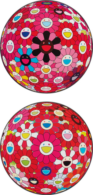 Takashi Murakami, 'Comprehending the 51st Dimension; and There is Nothing Eternal in this World That is Why You are Beautiful', 2014, Print, Two offset lithographs in colors, on smooth wove paper, the full sheets., Phillips