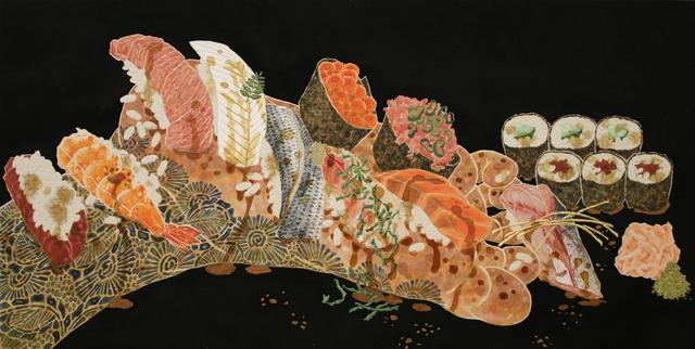 , 'Nourish VI (Sushi On The Sole),' 2016, JanKossen Contemporary