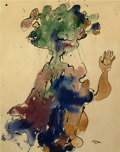 , 'Personnage au chapeau, seins bas superposes (Figure with a Hat, Superimposed Low Breasts),' ca. 1952, Hammer Museum