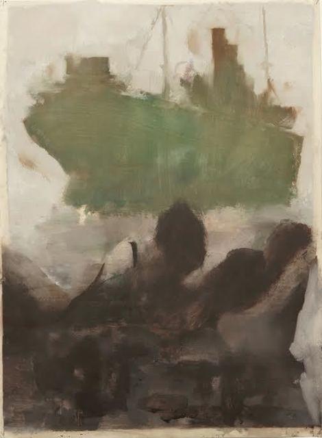 , 'BARCO VERDE,' 2015, Álvaro Alcázar