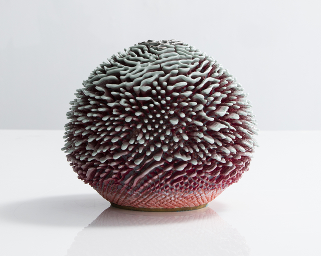 , 'Unique, Hand-thrown Urchin Accretion,' 2016, R & Company