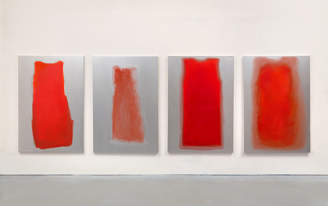 Lisa Milroy, 'Red', 2017, Parasol unit foundation for contemporary art