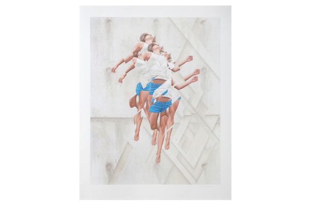 James Bullough, 'Breaking Point', 2016, Print, 24 colour screenprint on 330 somerset paper, Chiswick Auctions