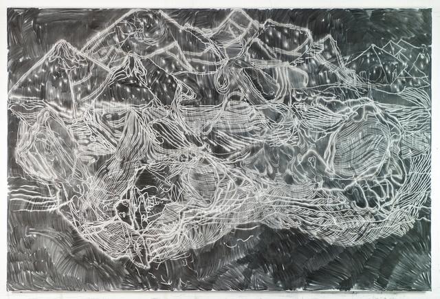 , 'Stricher (8),' 2017, Galerie Krinzinger