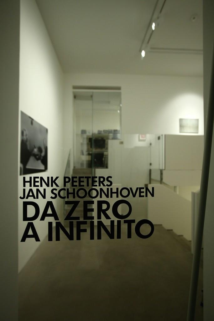 """HENK PEETERS - JAN SCHOONHOVEN """"FROM ZERO TO INFINITE"""" February 11, 2017 - March 04, 2017"""