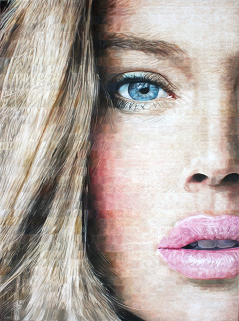 Robert Lemay, 'Blue Eyes', 2017, Painting, Oil on canvas, Wallace Galleries
