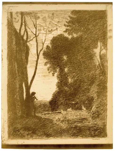 , 'Le Petit Berger (second plate),' 1855, Peter Freeman, Inc.
