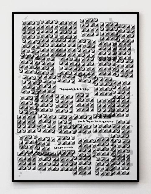 , 'Content Fill (Swish Swish Swish),' 2016, Kayne Griffin Corcoran