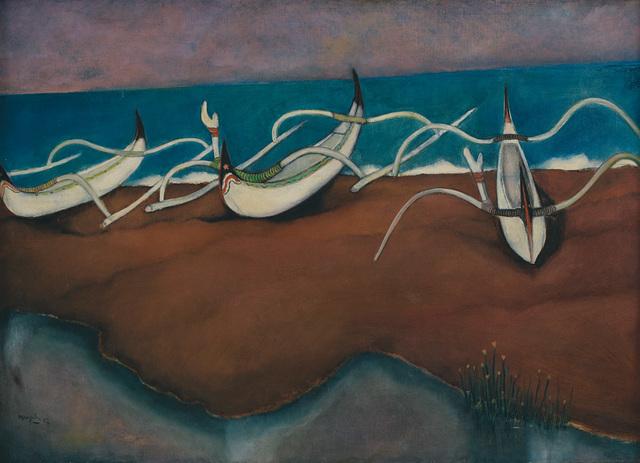 , 'Perahu-Perahu,' 1957, Art Agenda, S.E.A.