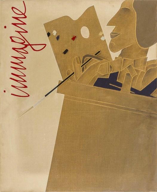 Emilio Tadini, 'Ritratto d'artista', 1977, ArtRite