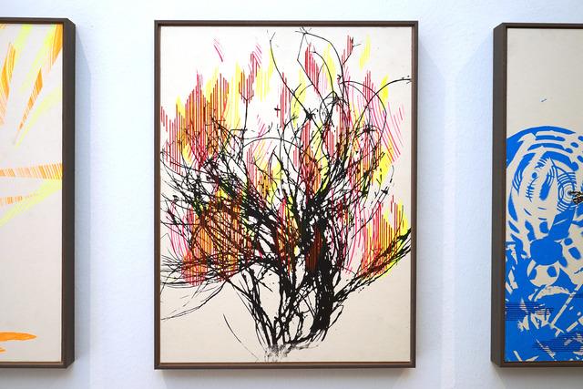 , 'Klopf auf den Busch,' 2018, Galerie Britta von Rettberg