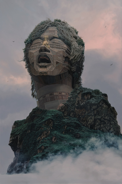, 'Palatial Temple at the Mountain's North Face,' 2015, Mizuma Art Gallery