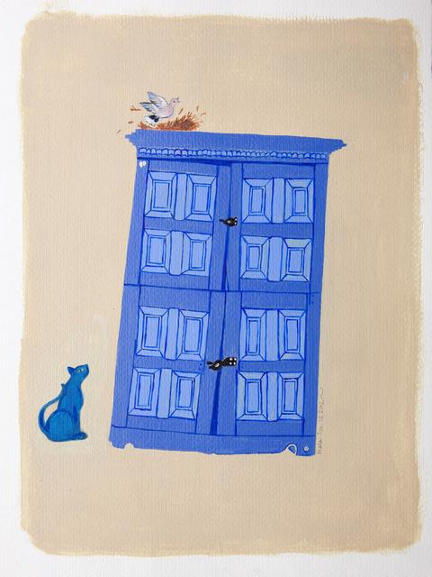 , 'Blue Cat,' 2012, Gallery Espace