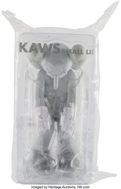 KAWS, 'Small Lie (Gray)', 2017, Heritage Auctions