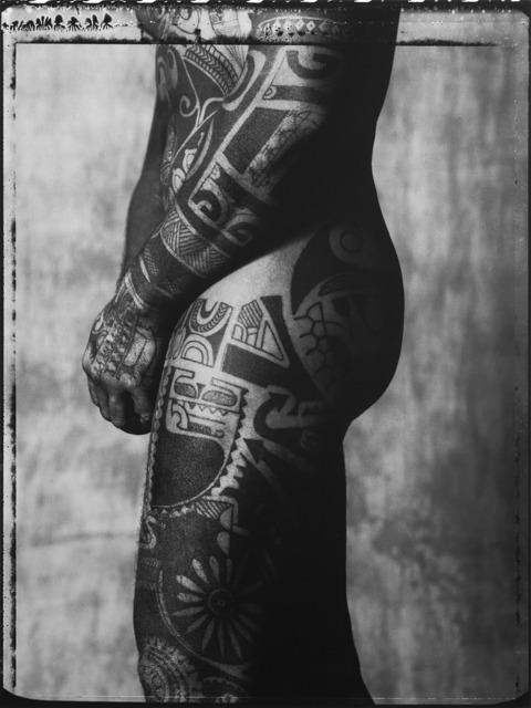Gian Paolo Barbieri, 'Tahiti tattoo', 1989, Photography, Vintage Hahnemühle FineArt print., Il Ponte