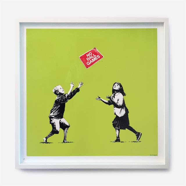 Banksy, 'No Ball Games (Green)', 2008, Print, Screenprint, Galerie C.O.A