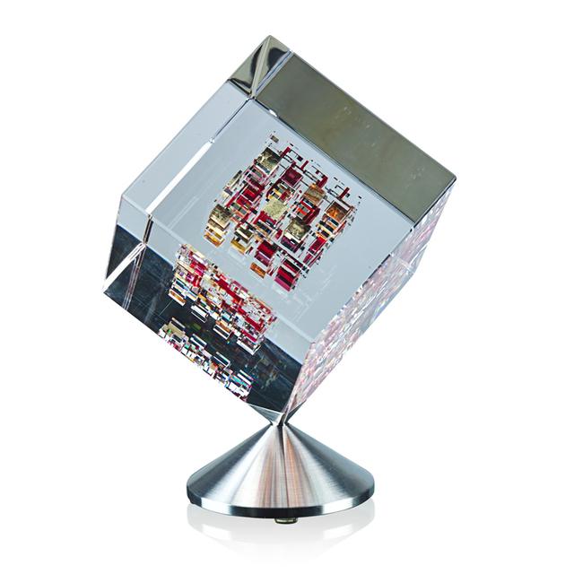 "Jon Kuhn, 'Spinning cube, ""Red Barron,"" Winston-Salem, NC', 2001, Rago"