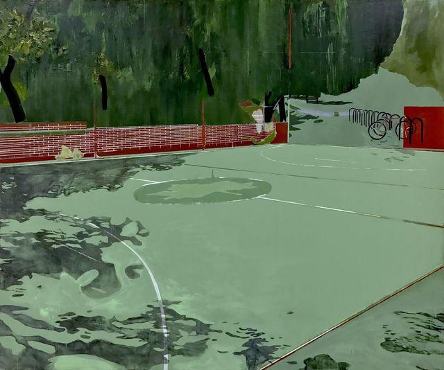 , 'Hoop Dreams,' 2017, SILAS VON MORISSE gallery