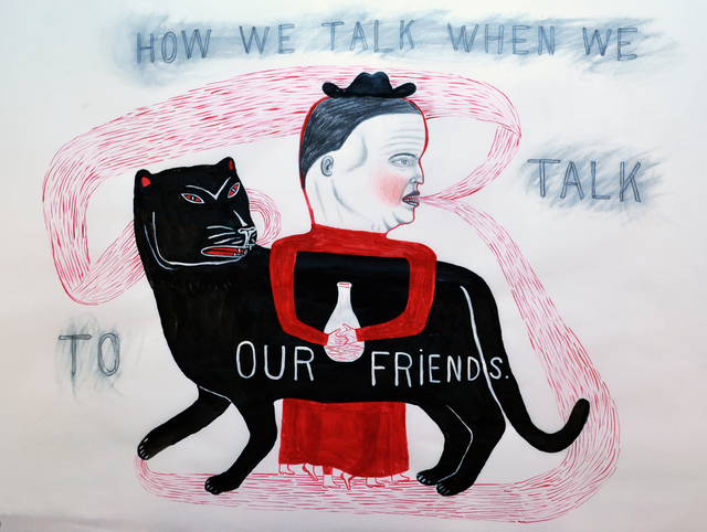 , 'Our Friends,' 2016, Koplin Del Rio